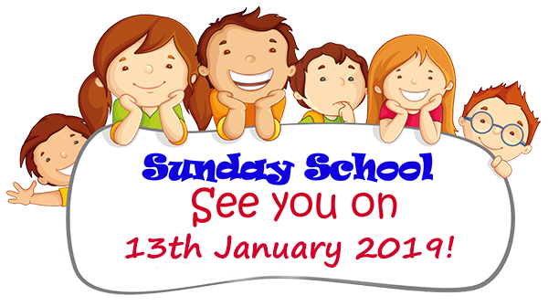 Sunday School 13Jan