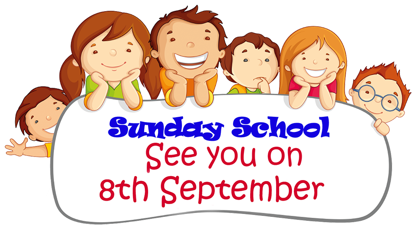 Sunday School 8 September
